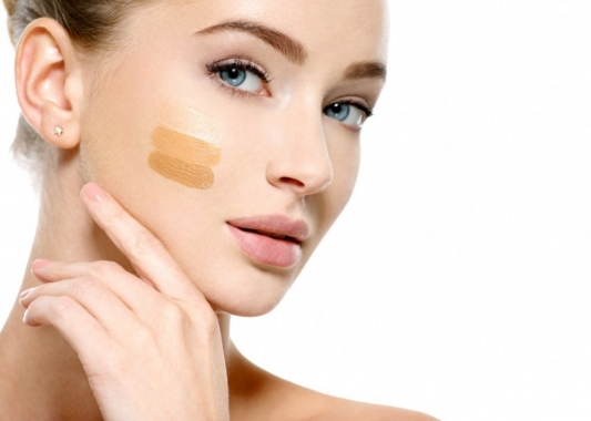 Finding the most suitable shade of foundation for my skin colour